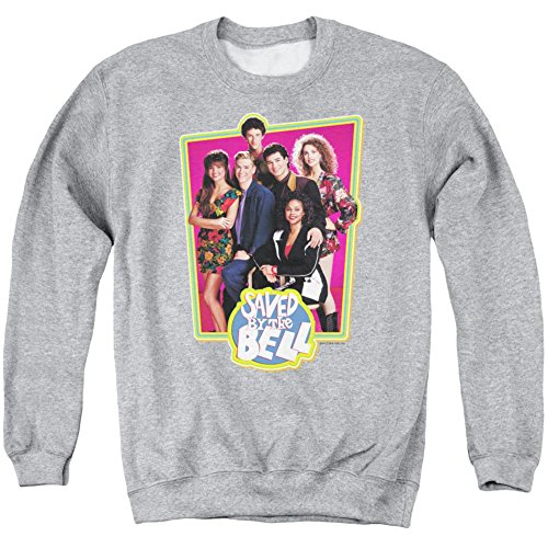 Crewneck Sweatshirt: Saved By The Bell- Saved Cast Size M