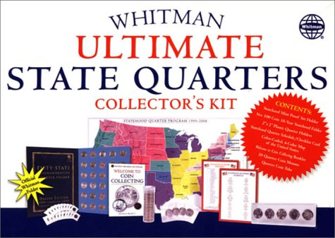 Whitman Ultimate State Quarters Collector's Kit [In - Quarters Collectors Statehood