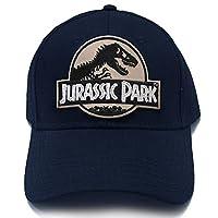 Jurassic Park Movie Desert Camo Sci Fi Patch Snapback Navy Cap Hat by Project T