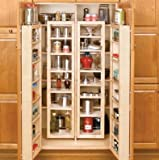 Rev-A-Shelf 45' Swing Kit Pantry Organizer, Natural