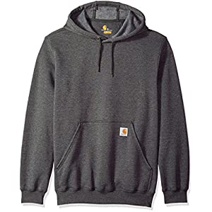 Carhartt Men's B&t Midweight Original Fit Hooded Pullover Sweatshirt K121