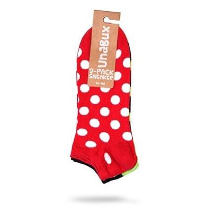 /40 /Doble Paquete Talla 36/ Unabux Zapatillas Calcetines Calcetines Patucos struempfe para Hombre o Mujer/