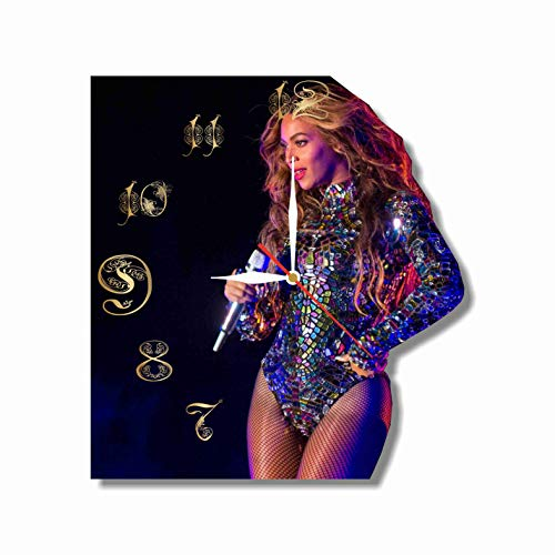 Original Handmade Wall Clock Beyonce 11.8 Get unique décor for home or office – Best gift ideas for kids, friends, parents and your soul mates