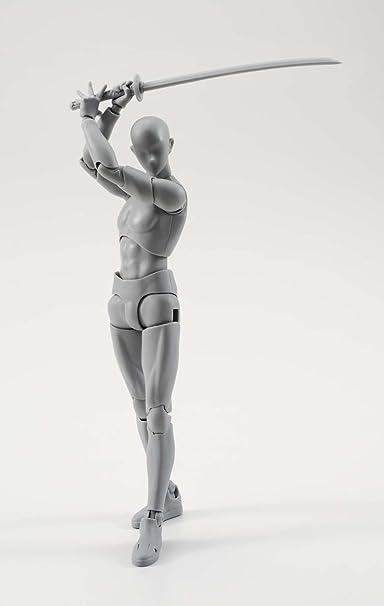 Bandai SHFiguarts Male Gray Set Ver  Action Figure