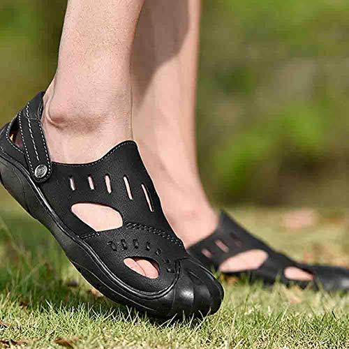 Ortopedico Uomo Scarpa Per Da Scarpone Comfort Black 41 Spiaggia Baotou Sconosciuto Comodo In Pelle Sandali Per La XIxwWv4q7A