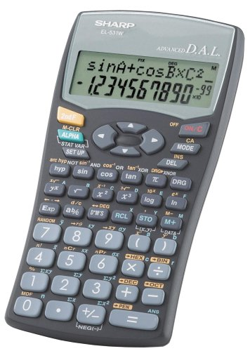 Sharp EL531WBBK (Black) Scientific Calculator by Sharp