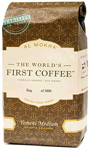 Al Mokha: The World's First Coffee. Yemen Medium Roast (whole bean)