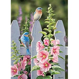 Cobblehill 80009 1000 Pc Puzzle Malvone Bluebirds E Vari