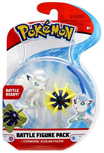 Pokemon Cosmoem vs Alolan Vulpix Battle Figure Pack Series 2 ()