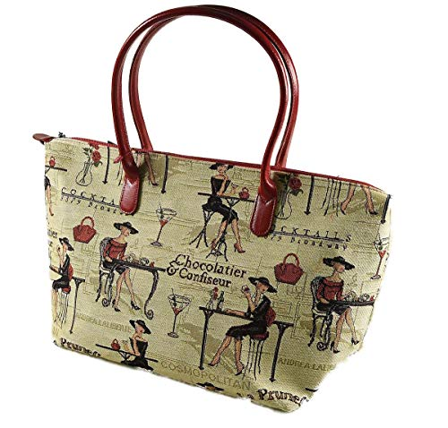 Tapisserie cocktail cocktail Tapisserie Tote Royal Royal Tote ragazza ragazza qHPAxnH