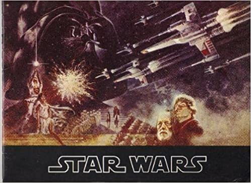 star wars souvenir program booklet george lucas tom jung cover