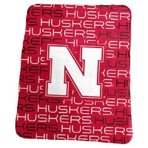- Logo Brands NCAA Nebraska Cornhuskers Classic Fleece Blanket