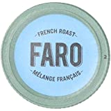 Faro French Roast, Extra Dark Roast Coffee, 100% Compostable, Fair Trade & Organic, Single Serve Cups for Keurig K-Cup Brewers, 24 Count