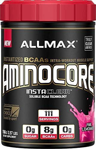ALLMAX Nutrition Aminocore BCAAs, Pink Lemonade, 1166g