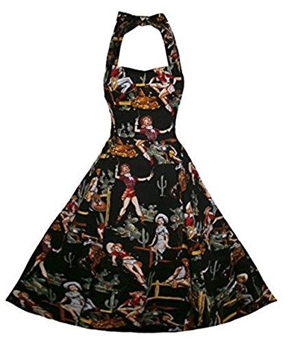 YOGLY Damen Kleide Partykleider Modisch Neckholder Ohne Arm VintageKleid  Abendkleider Cocktailkleider VintageKleid Brautkleid Cocktailkleid Ballkleid  ... e3eeaa1762