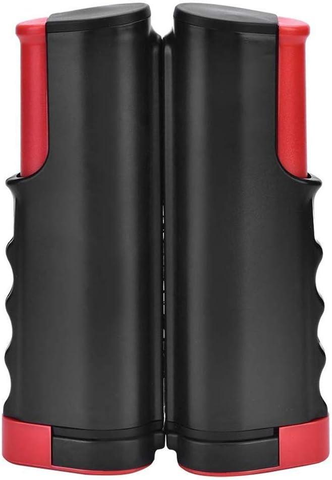 Gobesty Red retráctil de Ping Pong, Red de Tenis de Mesa retráctil portátil, Ping Pong Net para Mesa de Comedor (Colores al Azar)