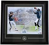 #10: Nick Foles Trey Burton Signed Framed 16x20 Philadelphia Eagles Super Bowl 52 Philly Special Collage Photo Fanatics