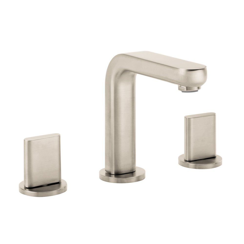 Genial Hansgrohe 31063821 Metris S Widespread Faucet, Brushed Nickel   Touch On  Bathroom Sink Faucets   Amazon.com