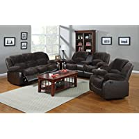 NHI Express Aiden Motion Sofa Set (1 Pack), Peat