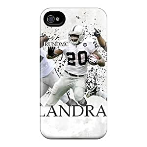 Scratch Resistant Hard Phone Cover For Iphone 4/4s (mzi3150wJll) Allow Personal Design High-definition Oakland Raiders Image