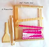 Large 36x36 Inch Weaving Loom Kit with Accessories.