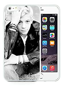 CMS Unique and Attractive iPhone 6 plus 5.5 inch TPU Cases Design with Ross Lynch in White