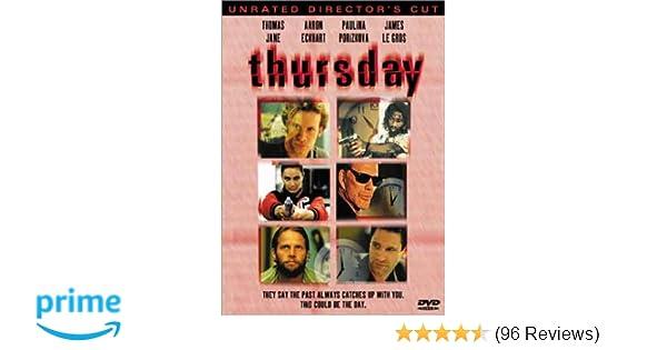 Amazon com: Thursday: Thomas Jane, Aaron Eckhart, Paulina