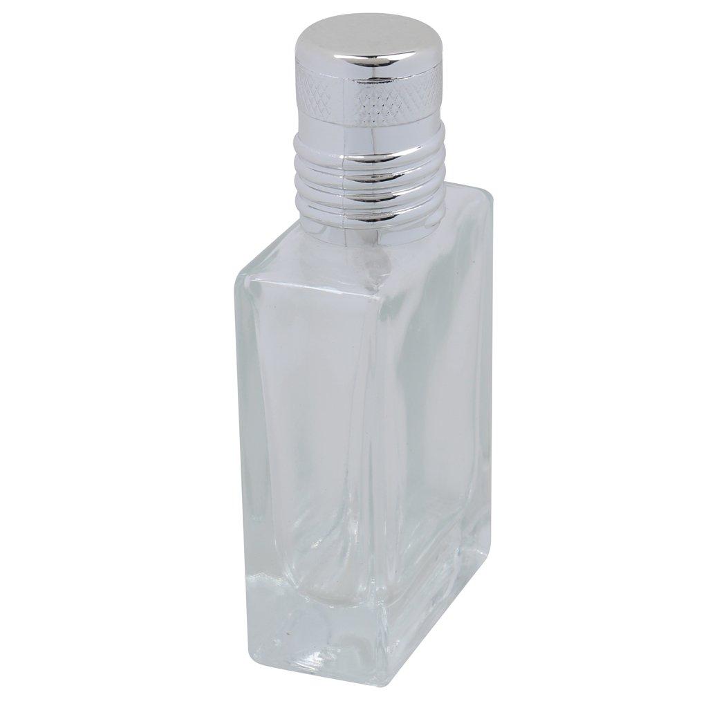 Flacon de Parfum Bouteilles Atomiseur 30ml Verre Vide en Rectangle Reutilisable Voyage Generic