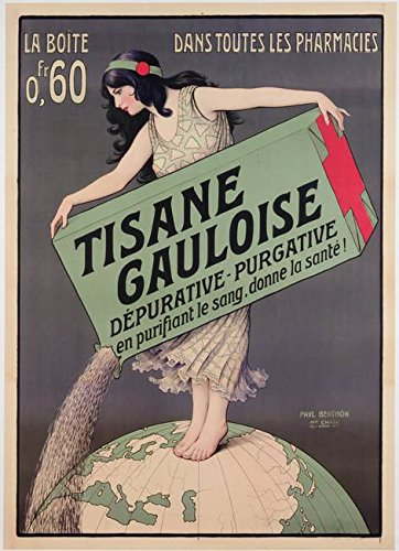wall-art-print-entitled-poster-advertising-tisane-gauloise-printed-by-cha-by-the-fine-art-masters