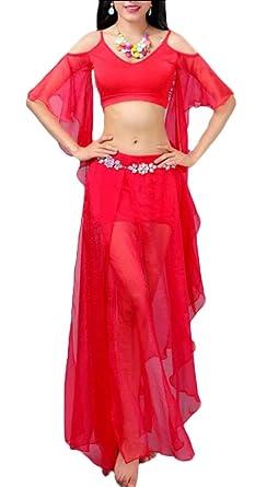 Disfraz de Danza del Vientre de la India para Mujer, Conjunto de ...