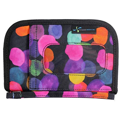Sugar Medical Universal Diabetes Supply Bag (Brooklyn)... (On The Go Diabetic Organizer)