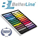Hair Chalk Set with 24 Colors - Nontoxic Temporary Hair Color That You Draw On