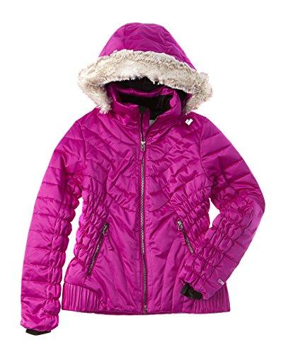 Obermeyer Girls Girls' Aisha Jacket, L, Purple by Obermeyer