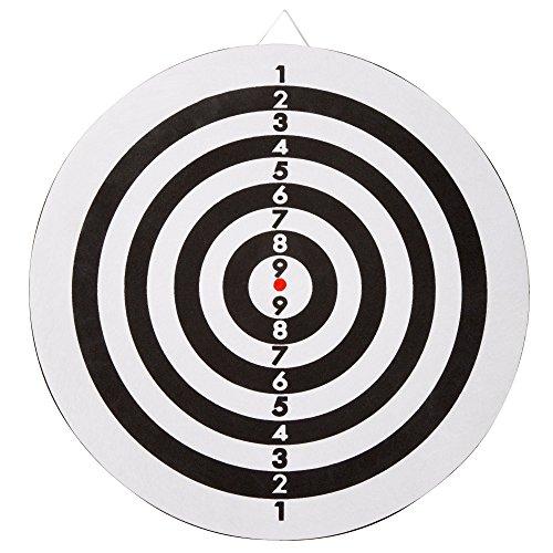 Trademark Games Double-Sided Flocked Dart – Regulation Size 6-17 Gram Darts for Indoor
