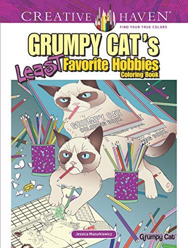 Favorite Whales Book (Creative Haven Grumpy Cat's Least Favorite Hobbies Coloring Book (Creative Haven Coloring Books))