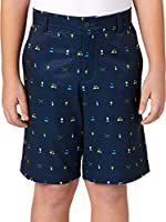 Slazenger Boys' Conversational Printed Golf Shorts