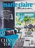 MARIE CLAIRE MAISON MAGAZINE FRANCE #503 SEPT