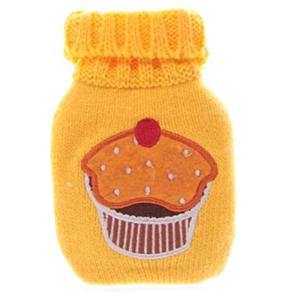 Calentador de manos/bolsillo Cupcake Yellow