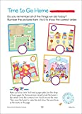 School Zone - Kindergarten Super Scholar Workbook - 128 Pages, Ages 5 to 6, Shapes, Colors, Beginning Sounds, Identifying Patterns, and More