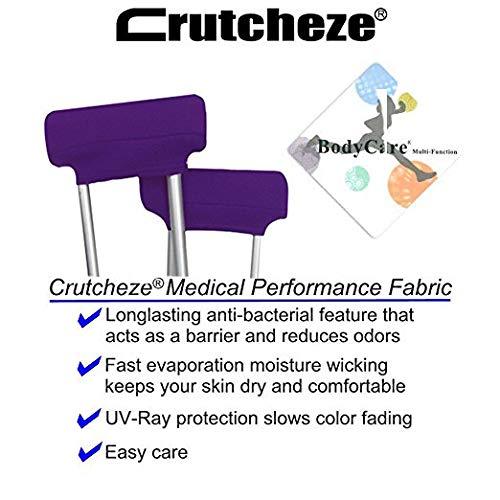 Amazon.com: Crutcheze - Almohadilla de puño para debajo del ...