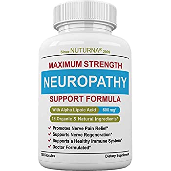 Amazon Com Clinical Strength Neuropathy Pain Relief