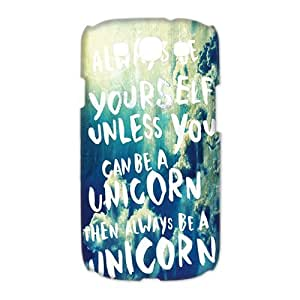 gdragonhighfive Hard Case Cover Fashion Style for Samsung Galaxy S3 I9300,I9308,I939 Happy Life Be Yourself