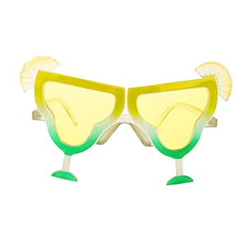 db629182ece8 Buy Generic Juice Hawaiian Novelty Sunglasses Fancy Dress Tropical Beach  Party Glasses Online at Low Prices in India - Amazon.in