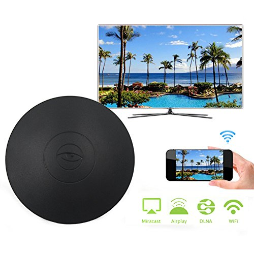 Price comparison product image WIFI Display Dongle,Colisivan HDMI Dongle Adapter Support Miracast DLNA Airplay 1080P Streaming Cast Videos, Audio, Picture, Live Camera from iPhone, iPad, Android Smart Devices to HD TV or Projector