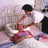 Lecent@ Medical Hair Washing Basin Tray Shampoo Inflatable Basin for Bed Use