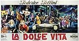 La Dolce Vita Poster Movie C 11x17 Marcello Mastroianni Anita Ekberg Anouk Aimee Alain Cuny