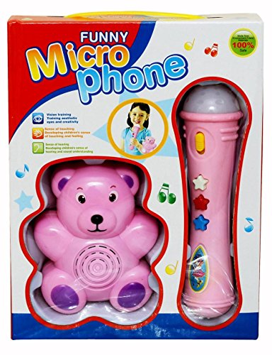 51CKF6wu  L - Funny Microphone (Pink) for Rs 399 (79% off)