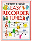 img - for The Usborne Book of Easy Recorder Tunes book / textbook / text book