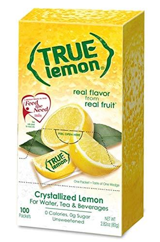 True Lemon Crystallized ~ 100 Pack Box 2.82 oz