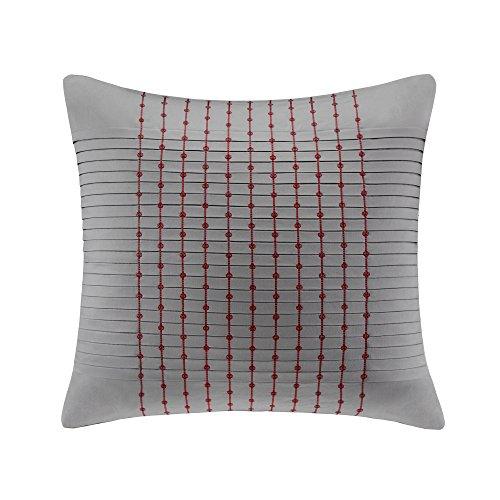 Cherry Blossom Pillows (N Natori Cherry Blossom Euro Sham, 26 by 26-Inch, Grey)